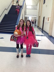 Pink Out Day supporting Breast Cancer Awareness Month