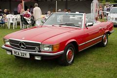 compact car(0.0), mercedes-benz 450sel 6.9(0.0), automobile(1.0), automotive exterior(1.0), vehicle(1.0), performance car(1.0), mercedes-benz r107 and c107(1.0), mercedes-benz(1.0), antique car(1.0), sedan(1.0), classic car(1.0), land vehicle(1.0), luxury vehicle(1.0), sports car(1.0),