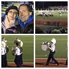 Chilly last pre-championship at Corning's Bandtoberfest exhibition.  Great shows, saw some new schools that don't do competitions, and Lisa and I kept warm!  Great show by the kids - excited for state championships at Syracuse Carrier Dome next Sunday!