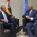 President Kutesa meets with US President, Barack Obama