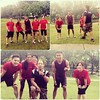 Great wet #bootcamp #workout this session, where the team competed with their own time! #fitness #malaysia