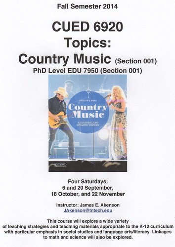 Country Music Course 1