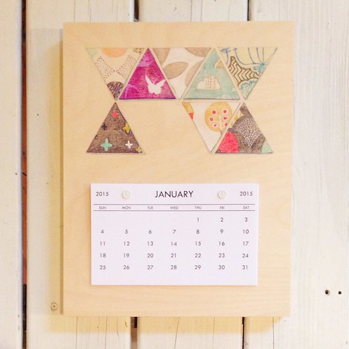 Triangles-2015 Calendar