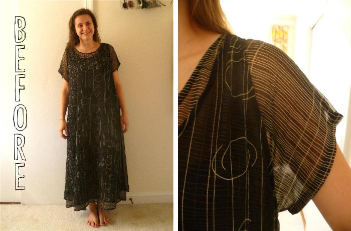 reversible kimono before