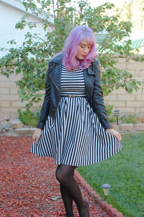 Modcloth striped dress 008