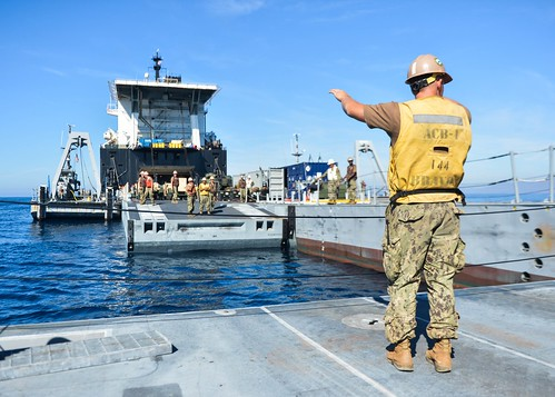 MARINE CORPS BASE CAMP PENDLETON , Calif. - Expeditionary Strike Group 3 and the 1st Marine Expeditionary Brigade participated in Navy-Marine Corps joint exercise Pacific Horizon.