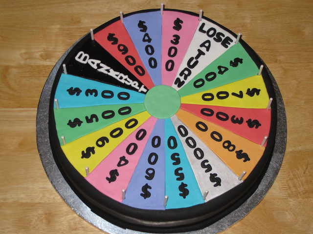 Wheel Cake 4