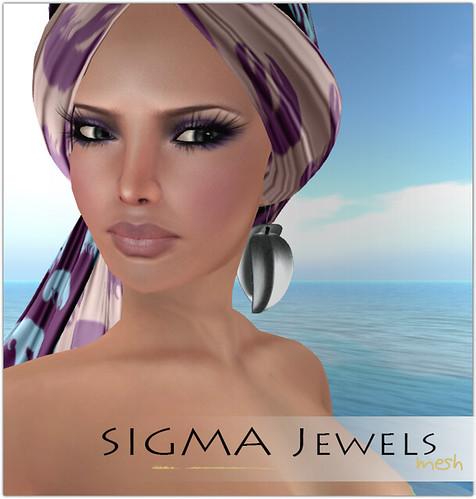 SIGMA Jewels - Leaf earrings