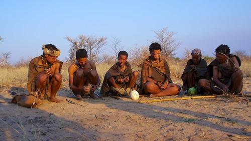 Group of San Bushmen