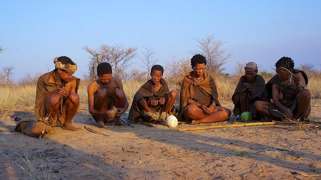 Die San - Botswana Hochzeitsreise