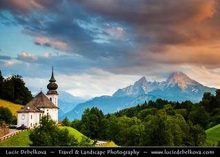 Germany - Bavaria - Berchtesgaden National Park - Maria Gern Kirche Church