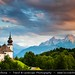 Germany - Bavaria - Berchtesgaden National Park - Maria Gern Kirche Church by © Lucie Debelkova / www.luciedebelkova.com