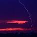 Lightning Strikes 1 World Trade Center by Alexander Rabb