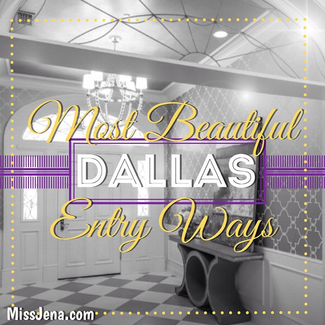 Most beautiful Foyers On the blog tonight - true dallas luxury lifestyle