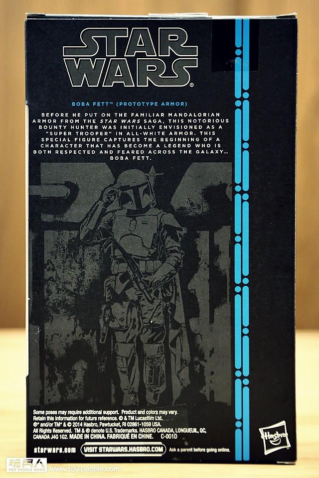 孩之寶《星際大戰》6 吋黑標系列「波巴‧費特 原型Ver.」