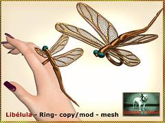 Bliensen - Libelula - Ring Kopie