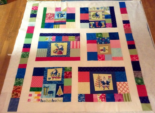 Funkytown Christmas Quilt