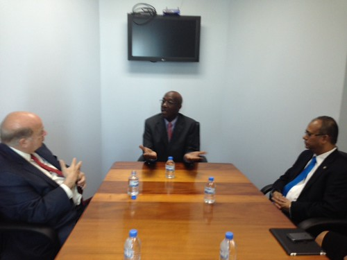 Secretary General Met with the Leader of the Opposition of Trinidad and Tobago