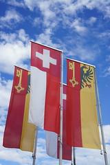 Swiss flags 2