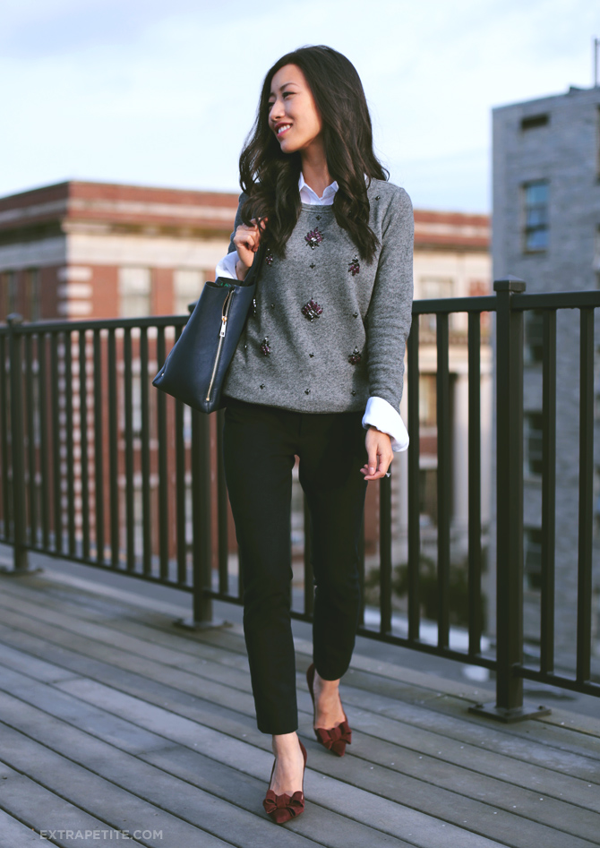 loft jewel sweatshirt