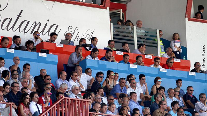 Catania-Juve Stabia: la non cronaca del match