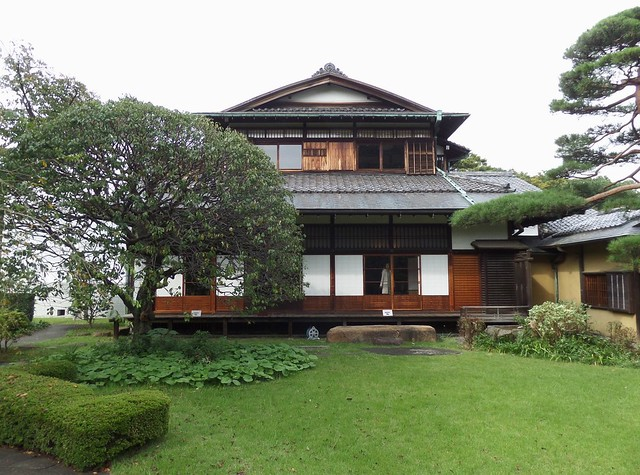 House of Korekiyo Takahashi from the Garden