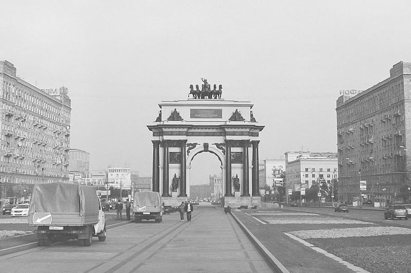 Moscow Triumphal Gate (OldBW ver.)