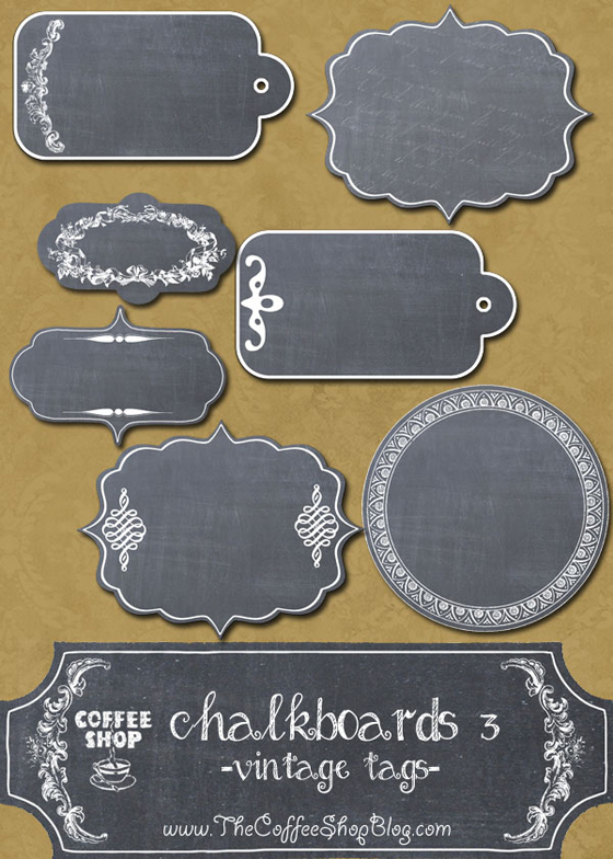 6-Set-di-tags-lavagna-con-forme-vintage--CoffeeShop-Chalkboards