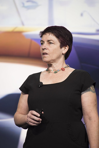 Andrea Keay, JavaOne Community Keynote, JavaOne 2014 San Francisco