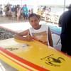 Matheus Gomes. Medição e credenciamento ok. Go sup! #suppe  #supaju2014 #cbssurf