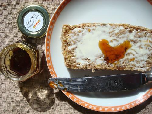 Honey and corn bread