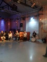 En el taller de sound painting..., en el espacio GARABIA.