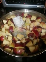 Apples and elderberries