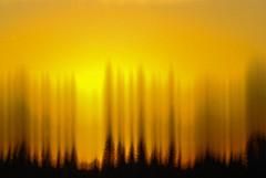 Faux Sunset