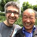 with Mr Yang, Anji Bai Cha tea producer