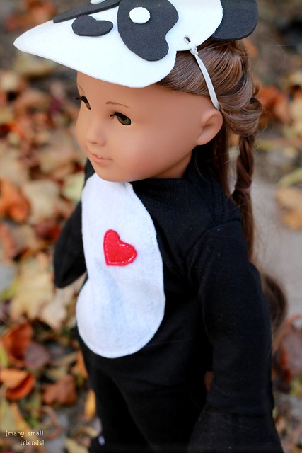 Panda Halloween Costume for American Girl Doll Kanani or any 18 inch doll