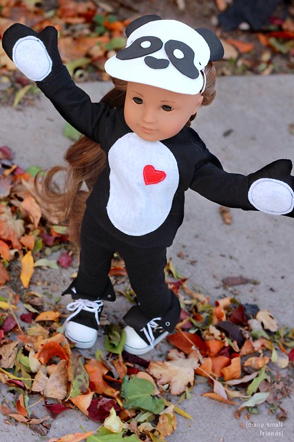 Panda Halloween Costume for Kanani