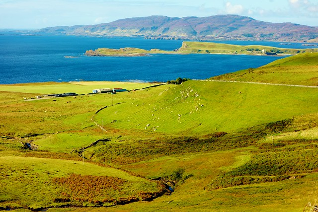West of Mull scenery, Scotland