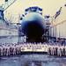 Year:  1997 - USS Columbus SSN 762 - Pearl Harbor, HI - Post Dry Dock Maintenance Crew Photo