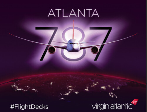 virgin atlantic flightdecks 787 dreamliner atlanta