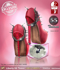SHEY Liberty Exclusive Stilettos - 55 Textures! ONLY at SHEY SHOES