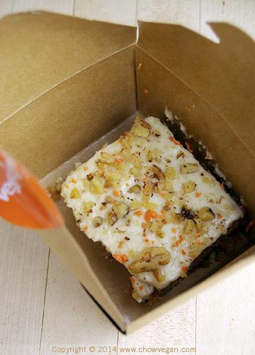 Veggie Grill Carrot Cake