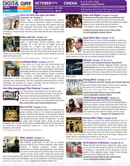 October Movies at Digital Gym CINEMA in North Park