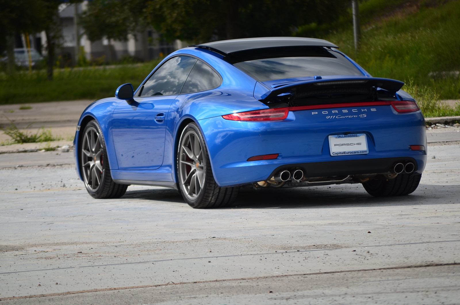 New 2015 911 C4s Coupe Sapphire Blue At Capital Porsche