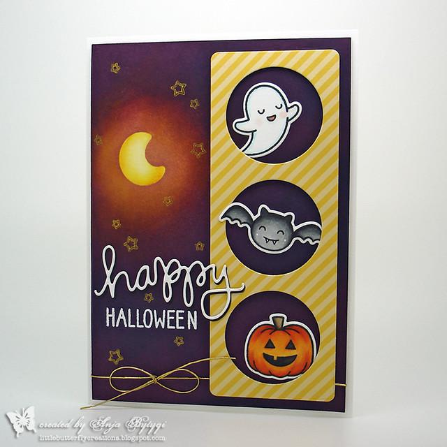 Lawn Fawn • Spooktacular • Happy Halloween