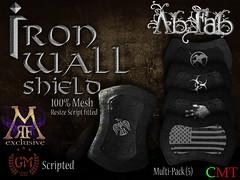 [AF] Iron Wall Shields