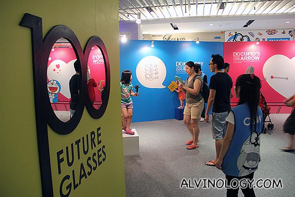 100 Doraemon glasses