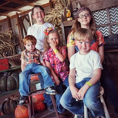 Had a blast with our wee little goofballs at YesterLand Farm. Ransacked the corn maze, terrorized the petting zoo, rode the rides, and ate unhealthily. Just a perfect Autumn day.