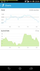 20141024_RunKeeper(Walking)charts