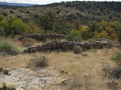 Ruins, Montezuma Well, a Unit of Montezuma Castle National Monument, Rimrock, Arizona